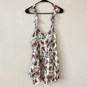 Free People Floral Swing Mini Dress Medium
